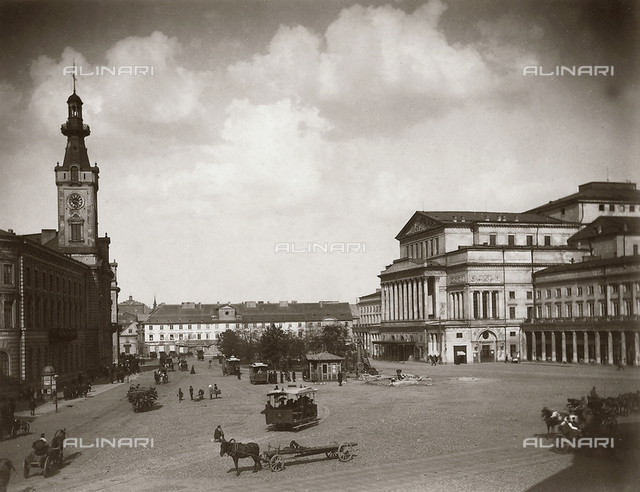 Great Theater, Theater square, Warsaw, Poland