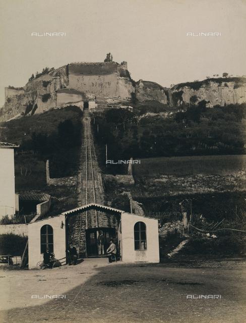 """""""Excursion en Italie"""": funicular to Orvieto"""