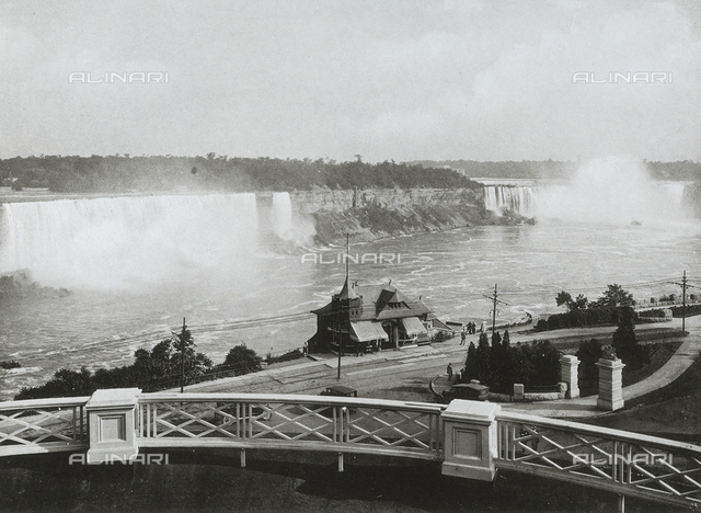 View of Niagara Falls from Victoria Park, Canada