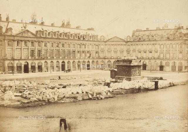 Colonne Vendà´me, Place Vendà´me, Paris