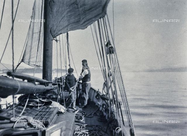 A boat, Corfu