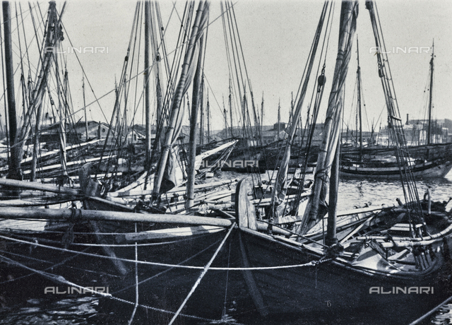 Boats in the port of Athens
