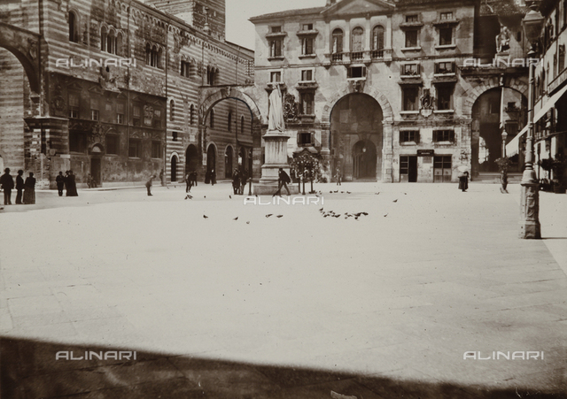 View of the Piazza dei Signori, Verona