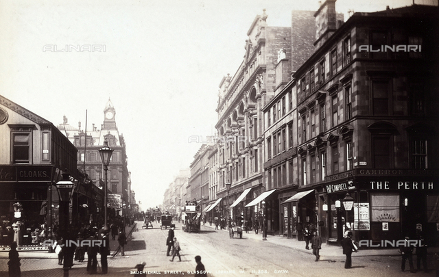 View of Sauchiehall Street in Glasgow