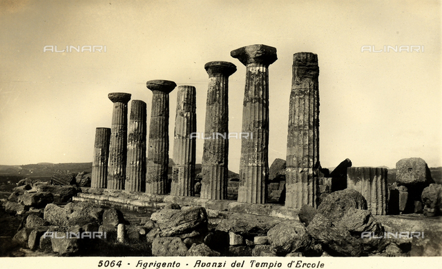 Temple of Hercules, Valley of the Temples, Agrigento