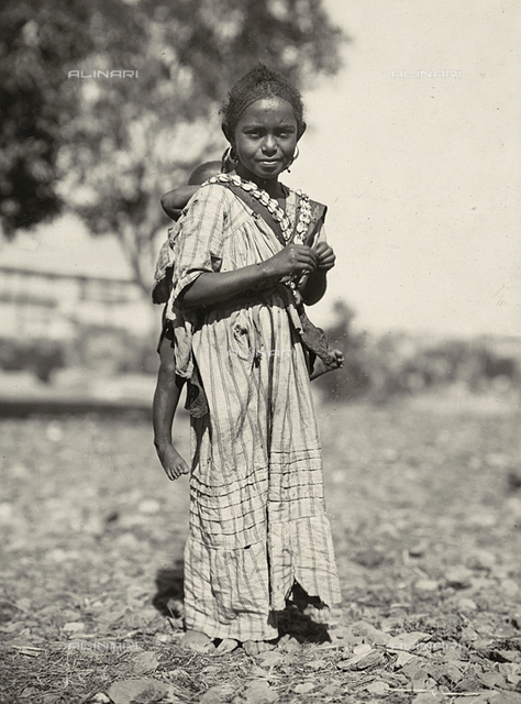 'Building an Empire' in the Fascist age: an Abyssinian girl