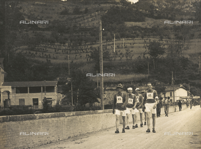 The After-work Activities Centre of the War Ministry of Bologna, walking race in Vergato