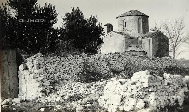 Country church in Zadar in Croatia
