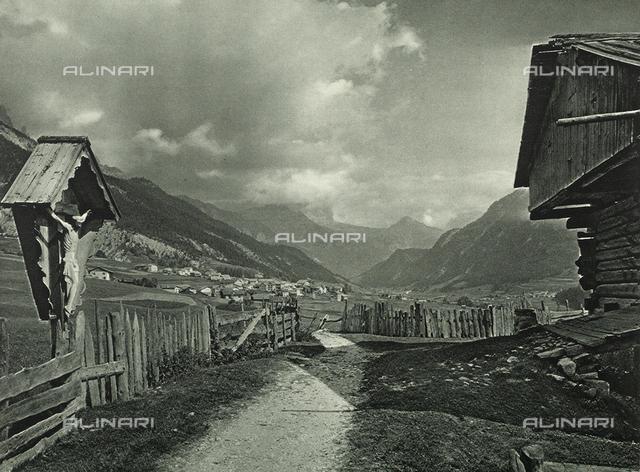 Val di Fassa in the Dolomites