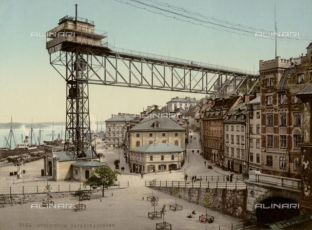 The port of Stockholm
