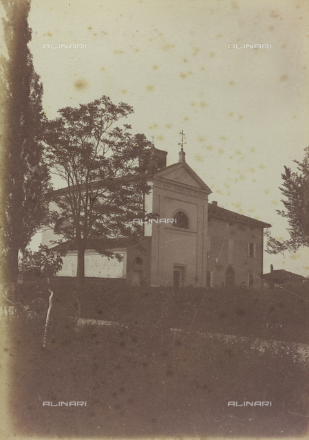 View of the church of Asia, near San Pietro in Casale