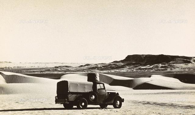 The beginning of the great dunes beyond Bilma, in Nigeria