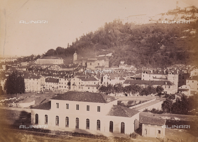 """The City of Mondovi and Sanctuary in Vico:"" view of Mondovi"