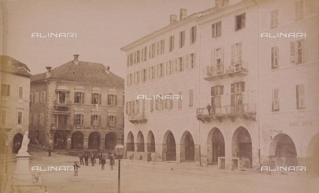 """""""The City of Mondovi and Sanctuary in Vico:"""" the Piazza Maggiore, in Mondovi Piazza"""