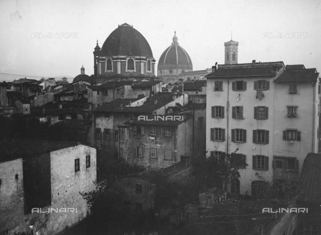 "From the album ""Ricordi fiorentini"" (Memories of Florence), view of Florence"