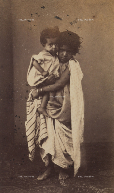 Portrait of Algerian beggars