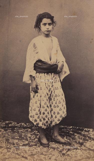 Portrait of an adolescent, Algeria