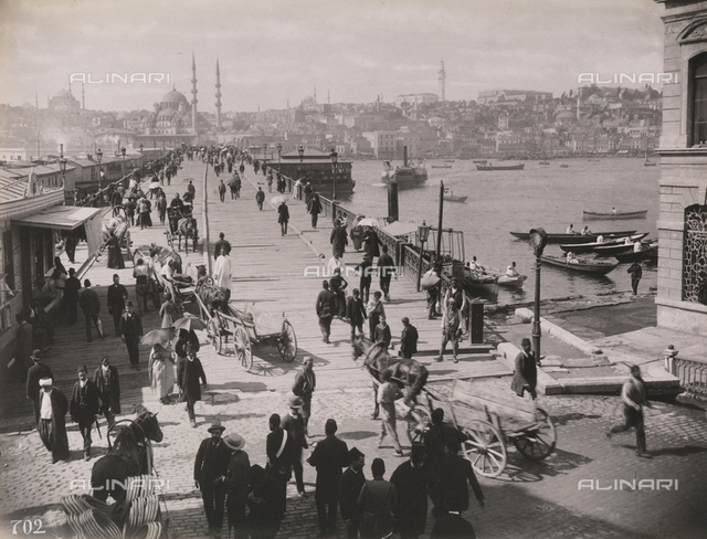 A bridge in Istanbul (Costantinople)