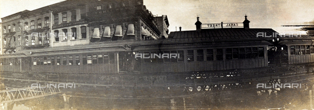 The elevated railway of New York