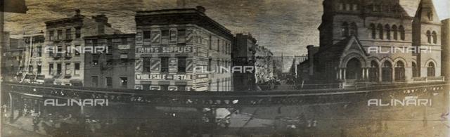 Elevated railway of New York