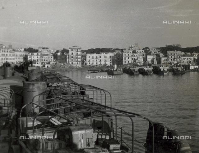 Scenes at Anzio Port, Rome