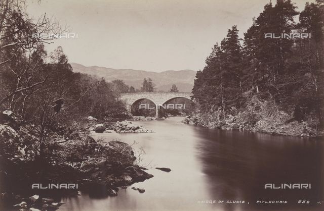 The Clunie Bridge near Pitlochry, in Scotland