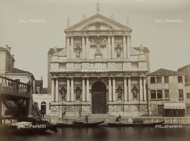 Church of the Scalzi, also called Church of Santa Maria di Nazareth, in Venice