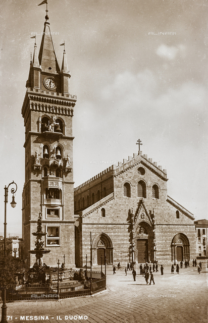 Bell tower and Cathedral of Messina