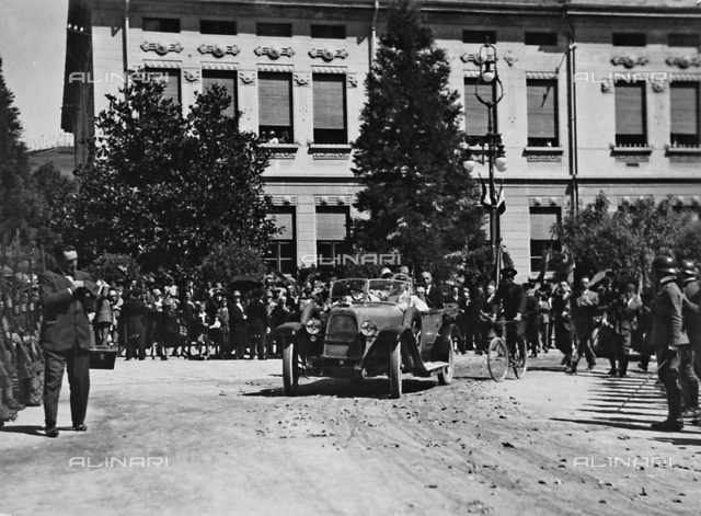 H.R.H. the Prince Humbert of Savoy on the occasion of his visit to Salsomaggiore 3 July 1927