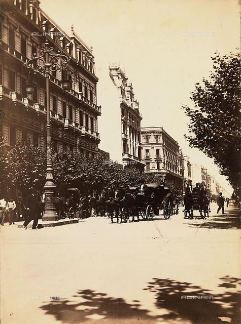 View of Avenida de Mayo, Buenos Aires