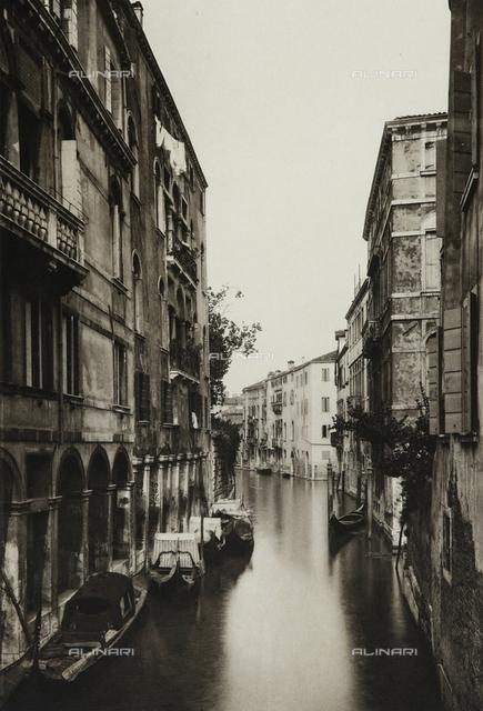 View of Rio di San Canciano in Venice