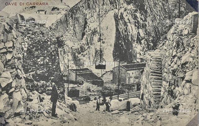 The quarries of Carrara