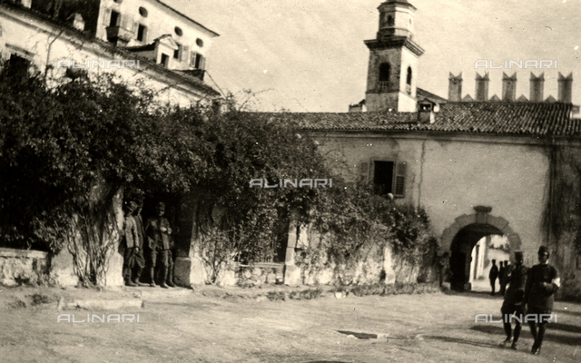 Villa Coronini in Quisca, used as a hospital during WWI