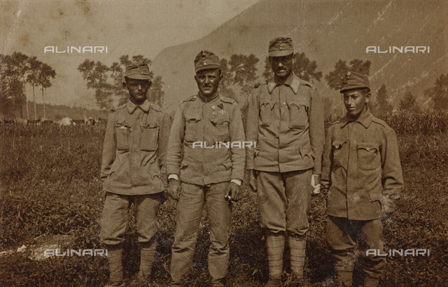 World War I: group of soldiers