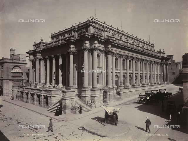 The Opera House in Valletta