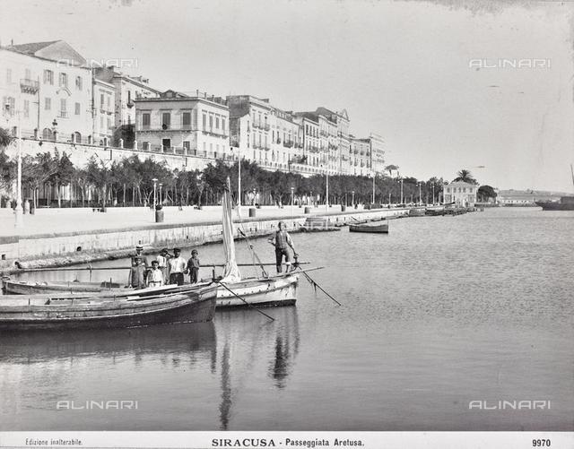"""Album """"Naples"""": Aretusa Walk in Syracuse"""
