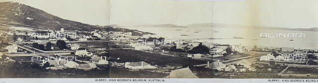 View of Albany and the Gulf of King George, Australia