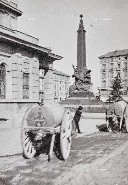 Monument of the Cinque Giornate, Piazza Cinque Giornate, Milano