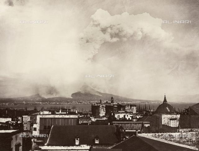 The April 26, 1872 eruption of Vesuvius