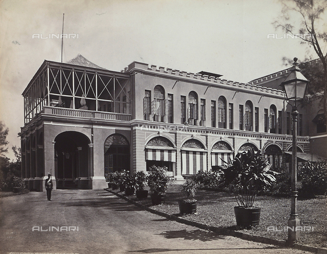 The Governor's Palace in Bombay, India