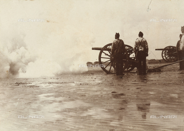 Military exercises on the plain of Cecina