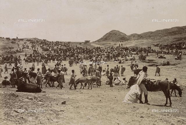 Market of Adagamus, Eritrea