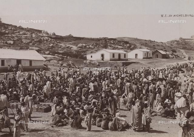 Market at Saganeiti, Eritrea