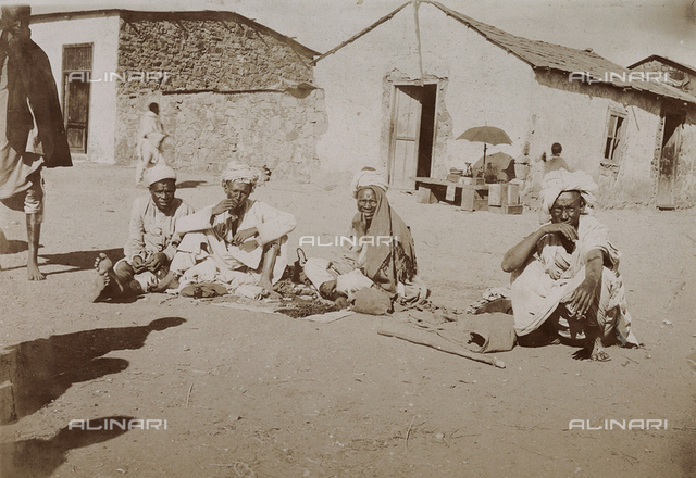 Oil vendors, Eritrea