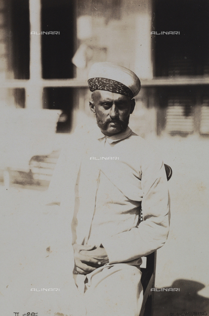 Virscieud Hirgi, merchant and chief of the Banian (Indian) community, Massawa