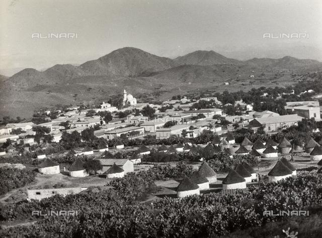 View of Cheren city in Eritrea