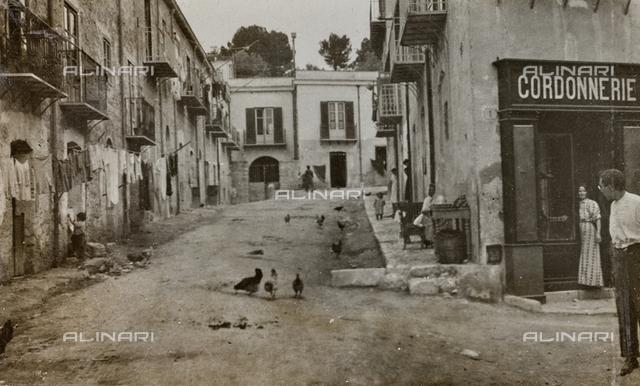 """Album """"Herbstreise 1906"""": view of Palermo"""