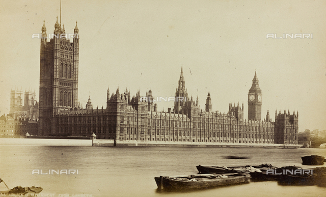 Clock Tower - The Houses Of Parliament, London