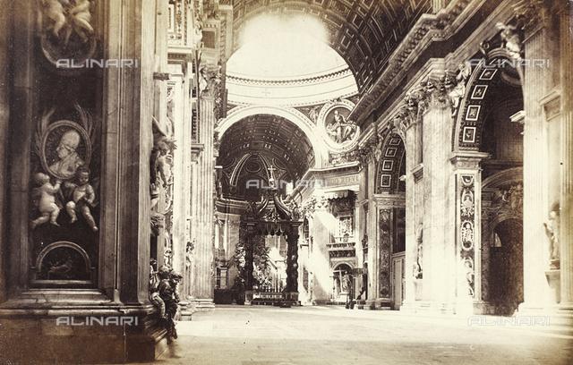 Interior, St. Peter's Basilica, Rome - Vatican City