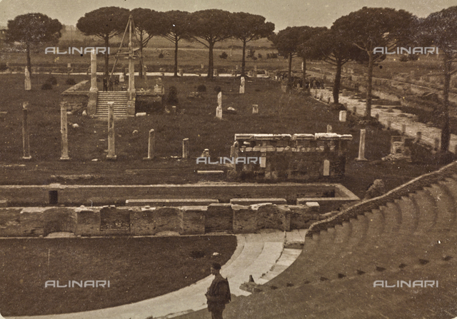 Roman theater in Ostia